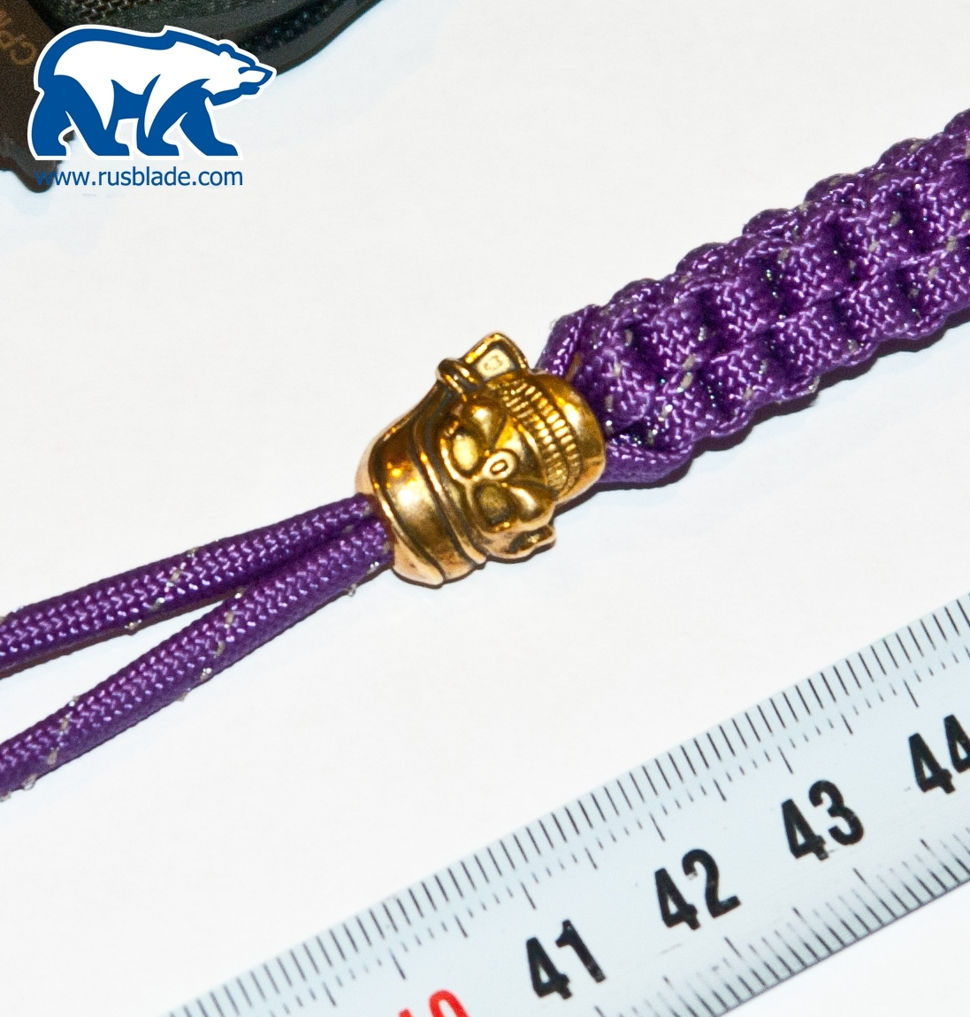 "Sword Knot ""Purple/Gold"" - фотография"