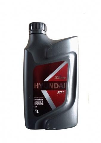 HYUNDAI XTEER ATF3 Масло трансмиссионное (пластик/Корея)
