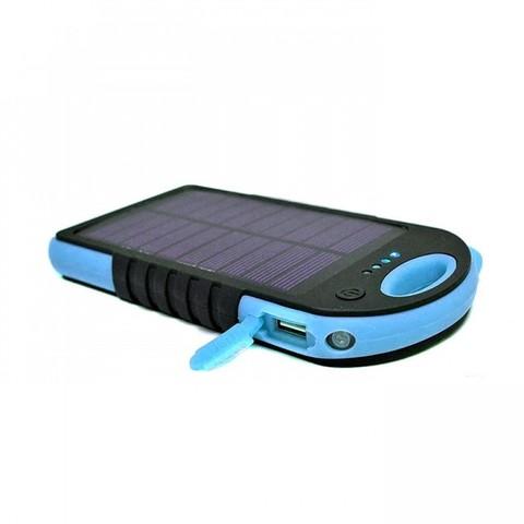 Внешний Аккумулятор ES800 на солнечной батареи с лампой Solar Energy Powered Battery 8000 mAh