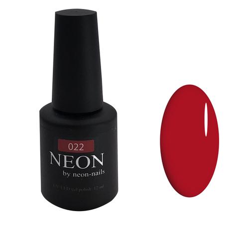 Красный рубиновый гель-лак NEON
