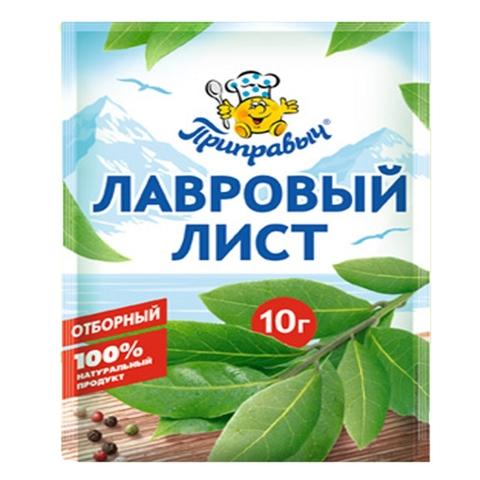 Приправа ПРИПРАВЫЧ Лавровый лист 10 гр м/у РОССИЯ