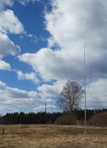Мачта телескопическая алюминиевая  RADIAL MT-10-КВ
