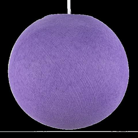 Хлопковый шар - подвес Лаванда
