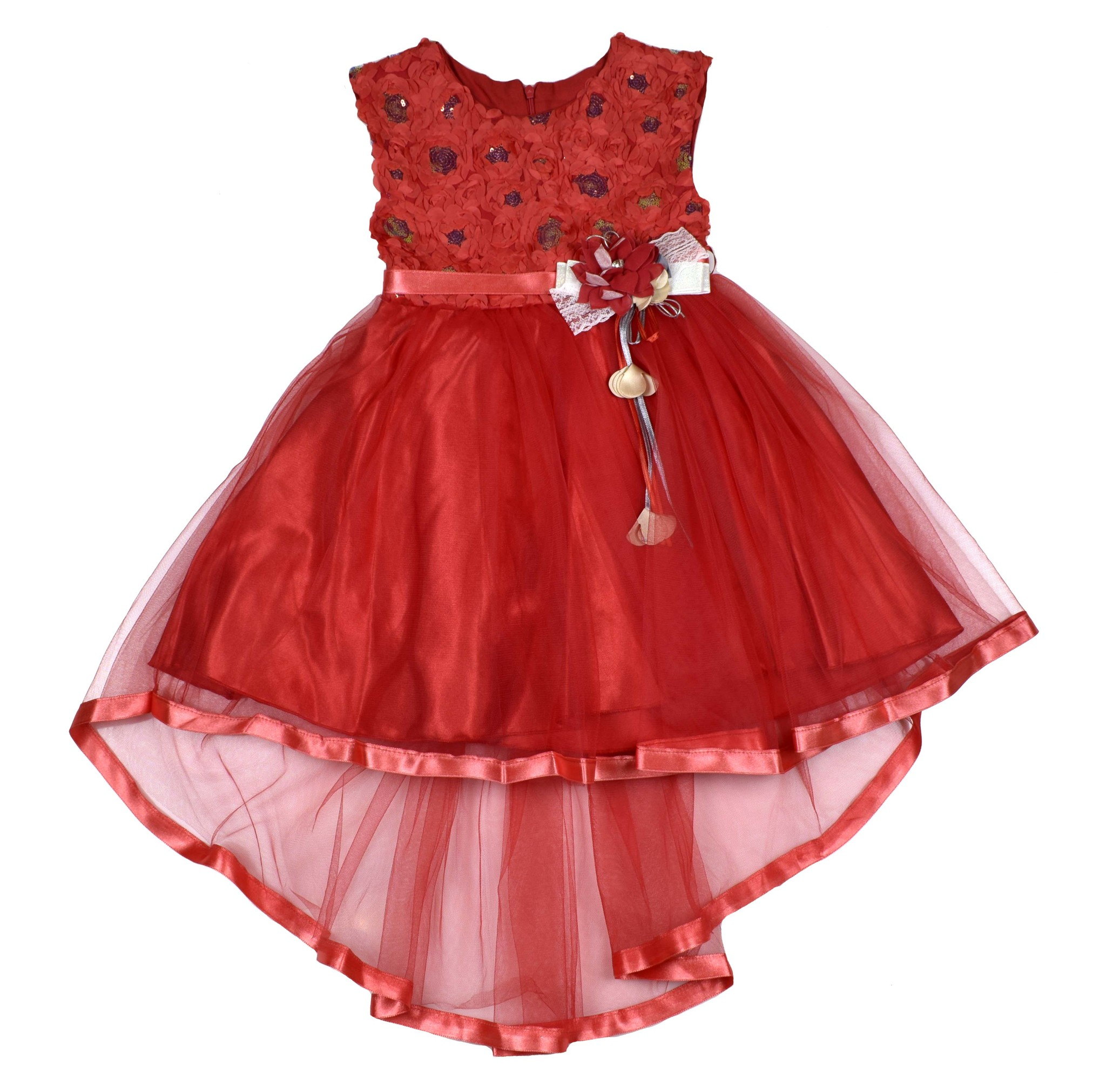 2090 платье Яркий шлейф