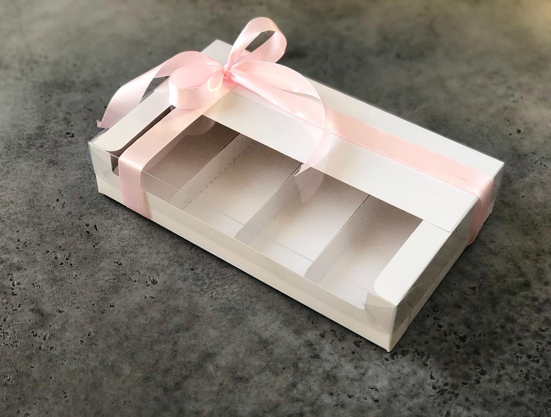 Коробка для эклеров и эскимо, 25х15х5 см