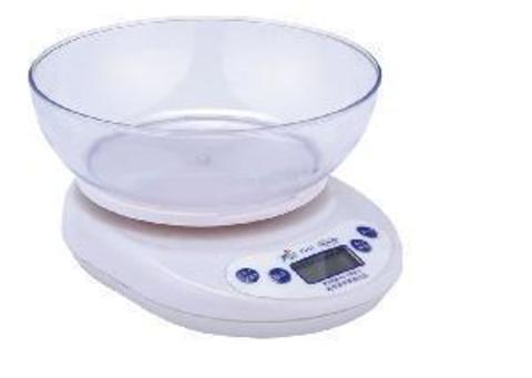 Кухонные весы электронные c чашей