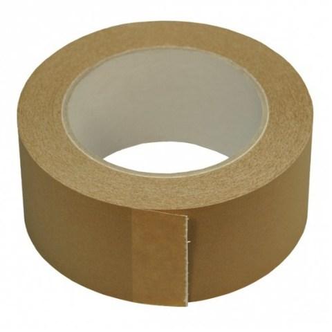 Скотч бумажный крафт, 48/50 мм, коричневый 45 м