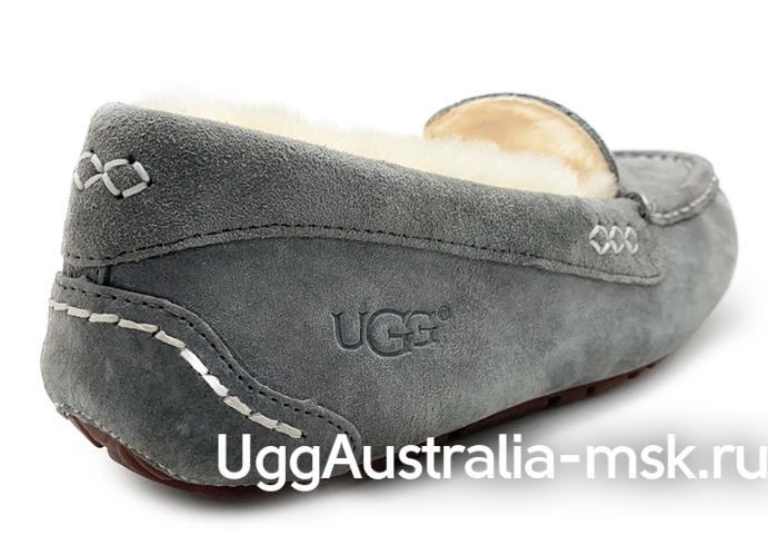 UGG MOCCASINS ANSLEY GREY