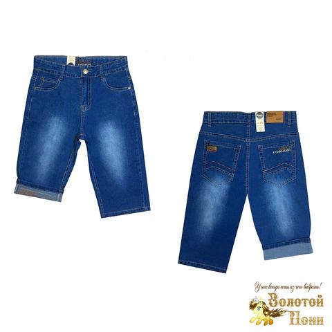 Бриджи джинсовые подростковые (10-16) 210424-B-56350