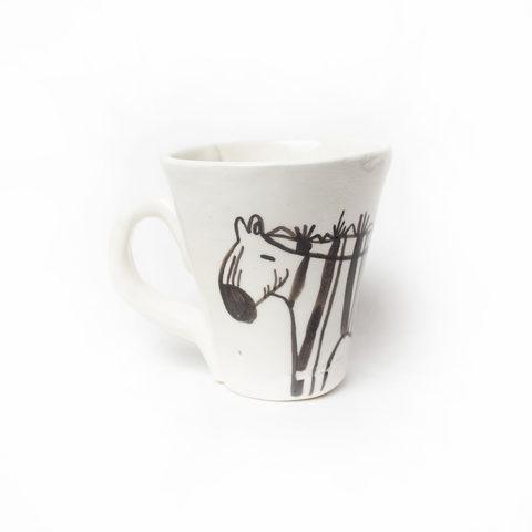 Чашка керамическая «Зебра»   Антон тут рядом