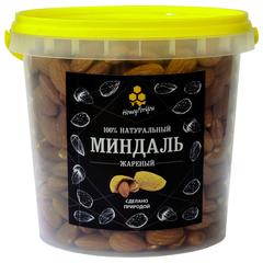 Миндаль жареный HoneyForYou, 600 грамм