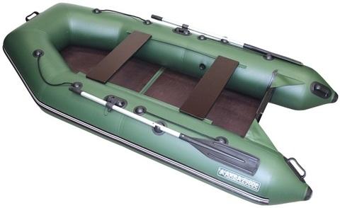 Моторная лодка Аква 2900 СК (стационарный транец, слань, киль)