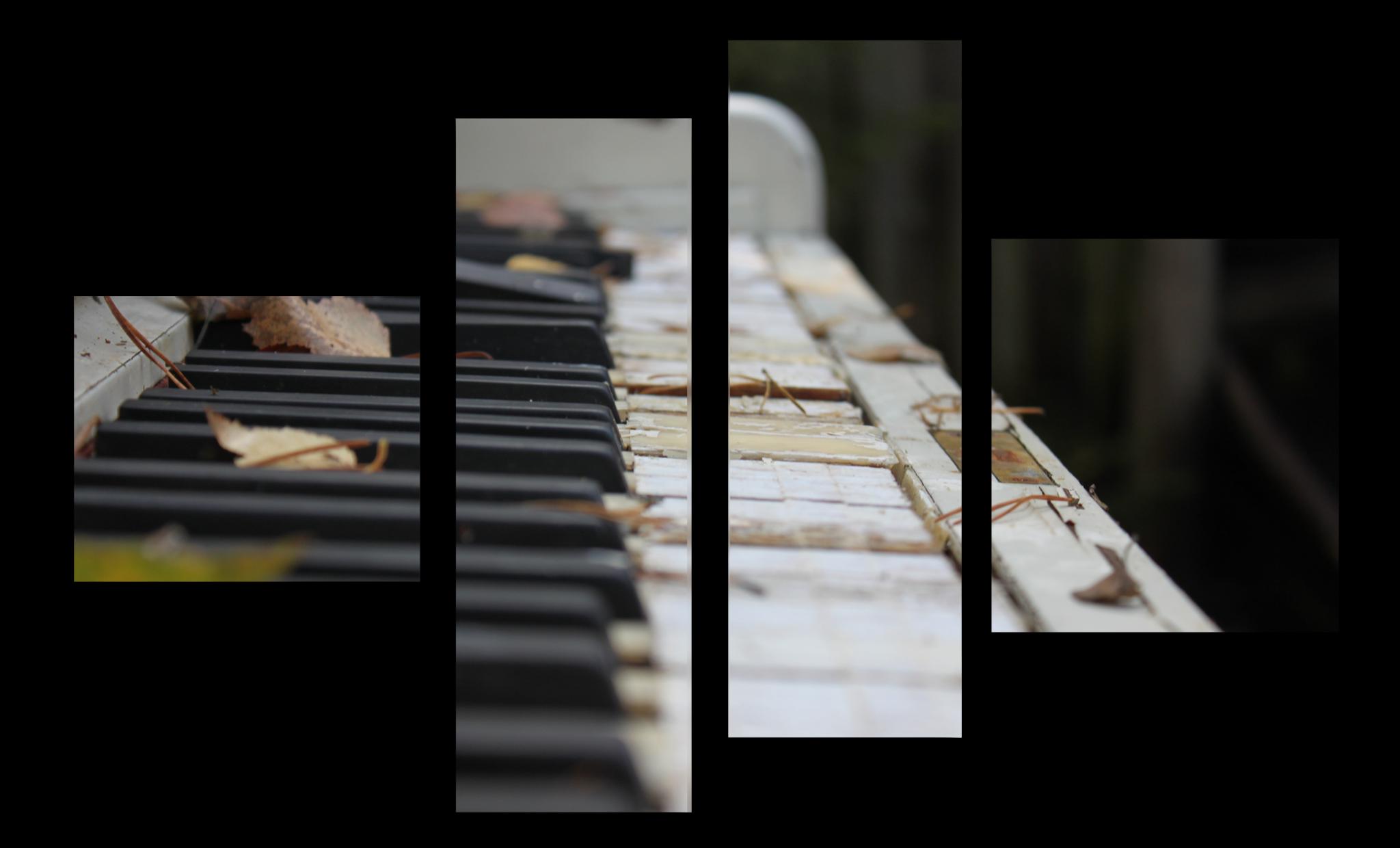 """Абстракция Модульная картина """"Старое пианино"""" М1031_M_загибы_90х60.png"""