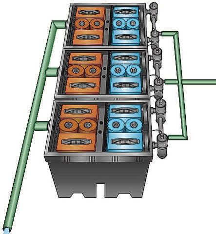 Проточный фильтр для пруда Pondtech Bio System 3 (150 м3)
