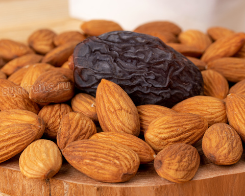 орешки миндаль для перекуса