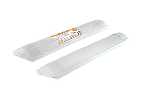 Светодиодный светильник LED ДПО 3017 1800 лм 2х9 Вт, 4000К (термопак) Народный