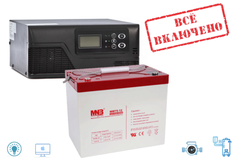 Комплект ИБП Ecovolt SMART 512+MNB 12-75