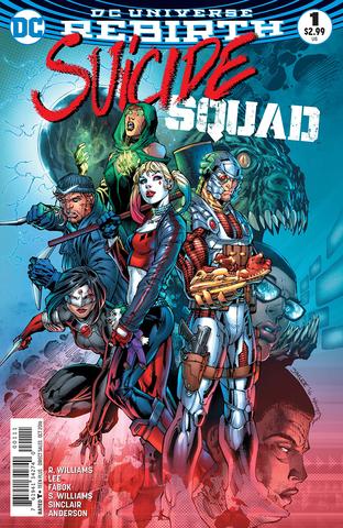 DC Rebirth. Suicide Squad #1