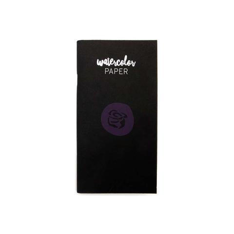 Внутренний акварельный  блок (9,5х16,5 см) для блокнотов -Prima Traveler's Journal Personal Refill Notebook- Watercolor Paper