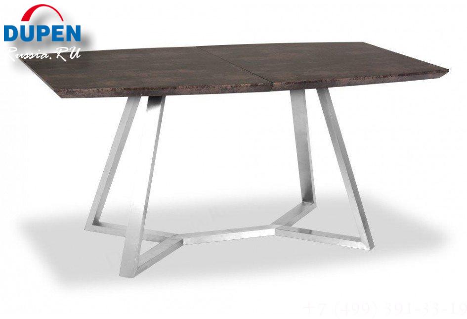 Стол обеденный AVANTI SOHO (160) BROWN STONE (коричневый)