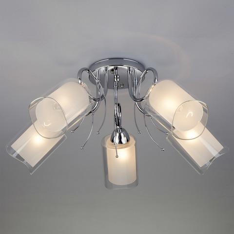 Потолочный светильник 30122/5 хром
