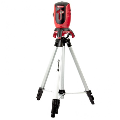 Уровень лазерный ML01T, дальность 10 м, точность ± 0,5 мм. / 1 м, длина волны 650 нм, проекция 1 вертикальная 1 горизонтальная плоскость, резьба под штатив 5/8