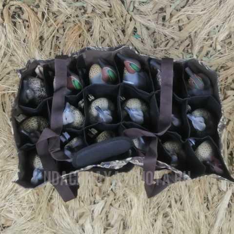 Сумка для переноски 18 чучел чирков