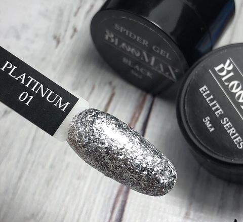 Гель краска Platinum series №1, 5 мл