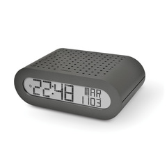 Настольные часы с FM-радио, серые Oregon Scientific RRM116-g