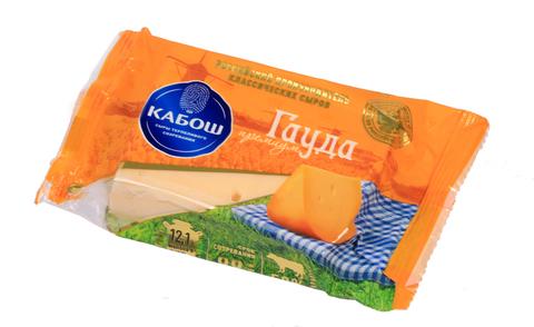 Сыр Гауда Премиум 50% 200г ТМ Кабош