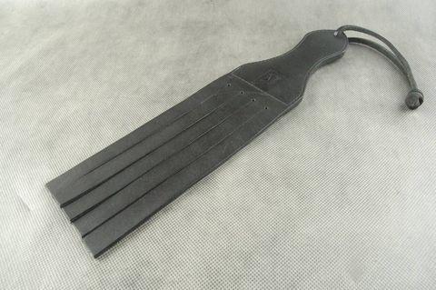 Черная шлепалка  Пятерня  - 34 см.