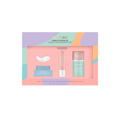 Набор средств по уходу за губами Trimay Lip Special Kit