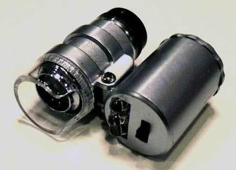 Микроскоп 60 миниатюрный с подсветкой