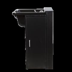 Парикмахерская мойка МД-212, комплектуется черной пластиковой раковиной, каркас ЛДСППарикмахерская мойка МД-212, комплектуется черной пластиковой раковиной, каркас ЛДСП