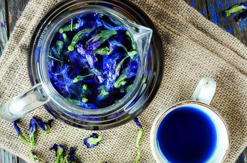 Органический синий чай Анчан