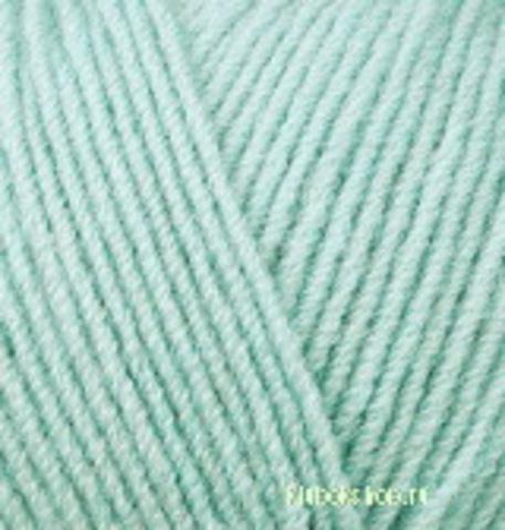 Пряжа Lanagold FINE (Alize) 522 Мята, фото