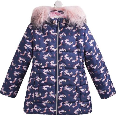 КТ200 Куртка для девочки зимняя
