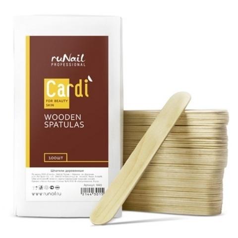 Шпатели деревянные Gardi, 100 шт