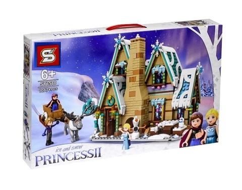 Конструктор SY Ice and Snow Princess II SY6580 Хижина в снегу