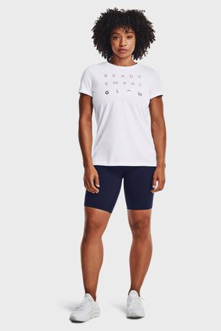 Женские синие шорты UA Meridian Bike Shorts Under Armour