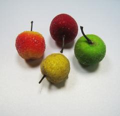 Фрукты, овощи, орехи, желуди - муляж 3-4 см, 5 шт.