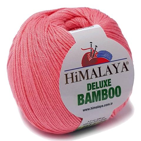 Пряжа Himalaya Deluxe Bamboo 124-08 лосось