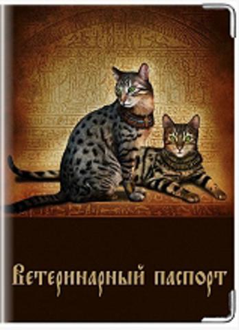 """Обложка для ветеринарного паспорта кошки """"К8"""""""