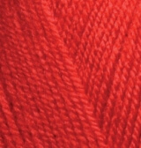 Alize Sekerim BEBE 56 Красный - фото