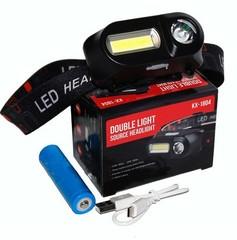 Мощный налобный светодиодный фонарь