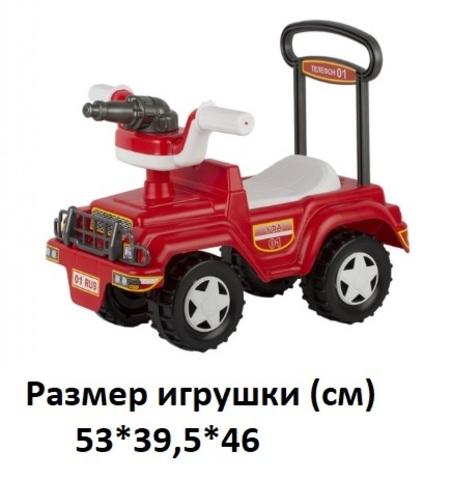 Автомобиль-каталка Пожарка У869 (Уфа)