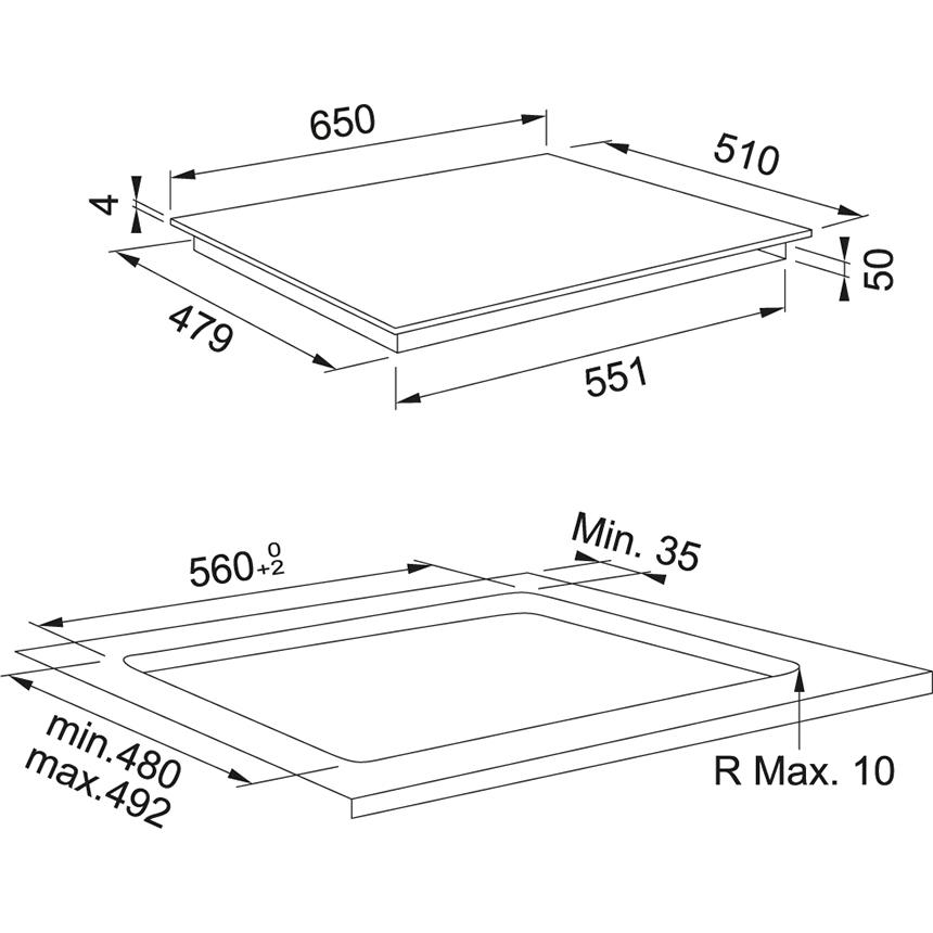Индукционная варочная поверхность Franke Smart FSM 654 I BK