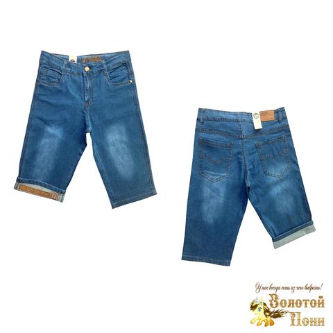 Бриджи джинсовые подростковые (10-16) 210424-B-525055