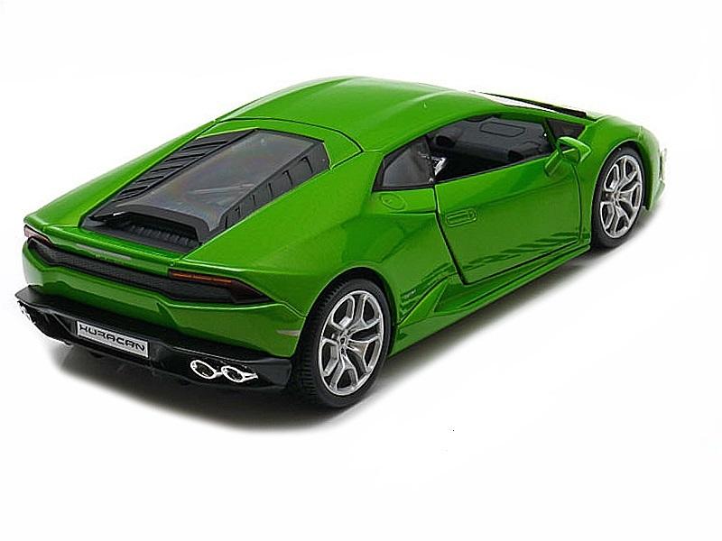 Коллекционная модель Lamborghini Huracan LP610-4 2014 Green Metallic