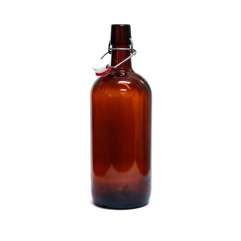 Бутылки с бугельной пробкой 1 л, 9 шт
